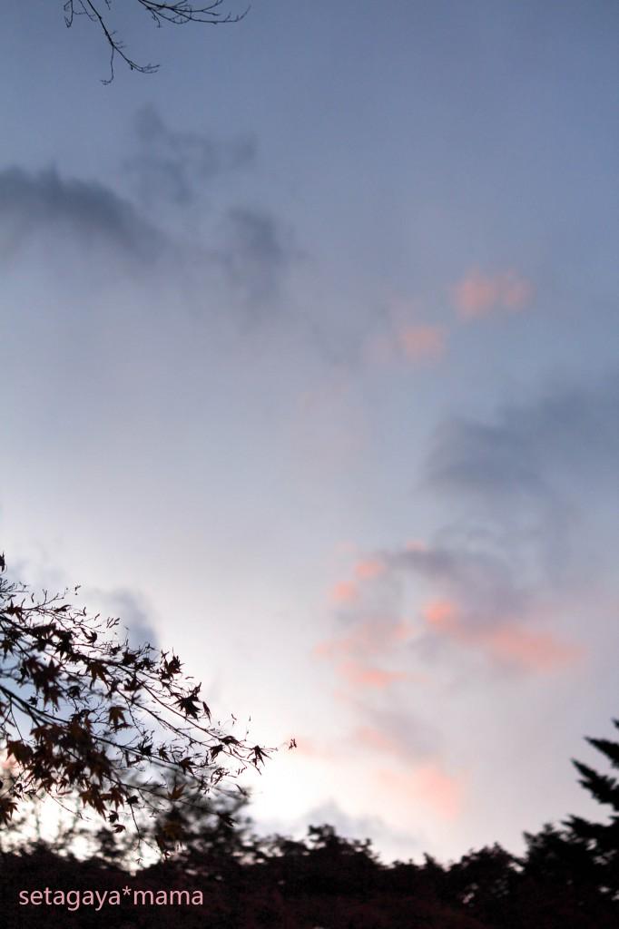 雲場池 夕焼け IMG_6819