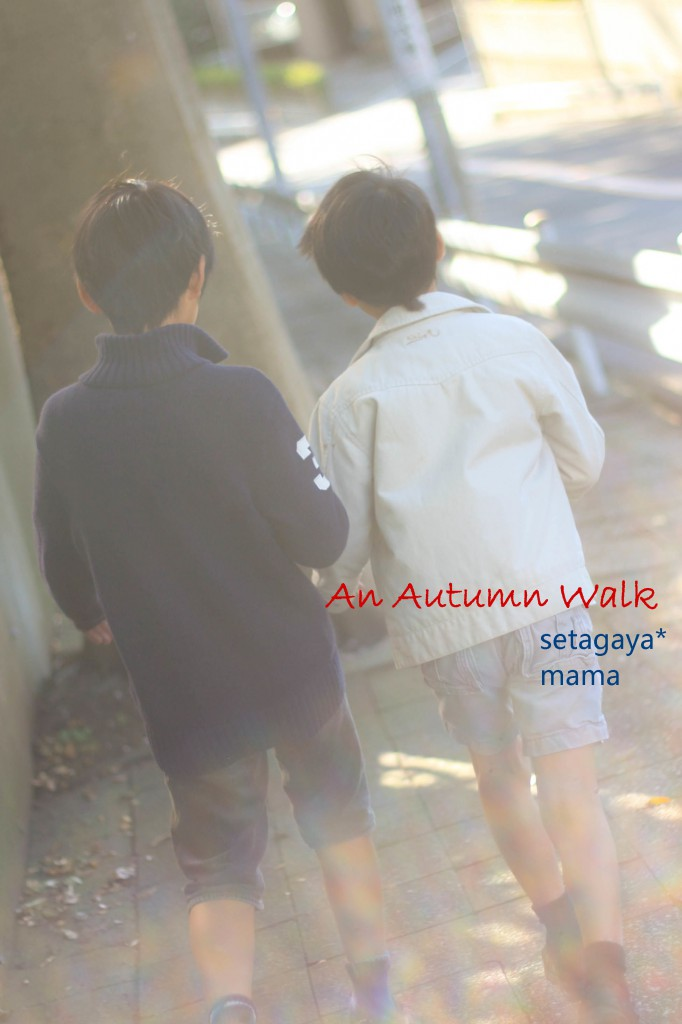 Walk with sonsIMG_5606