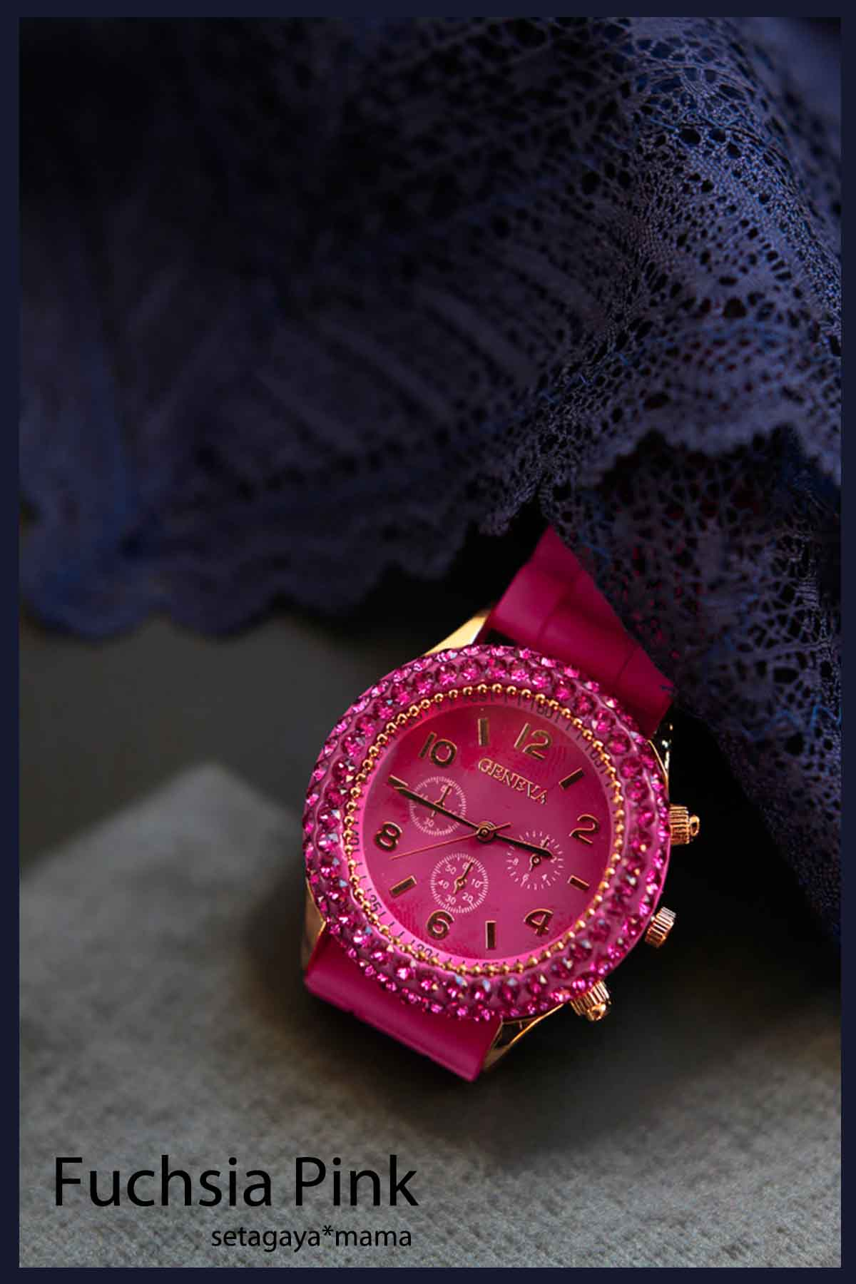 Watch Fusia Pink