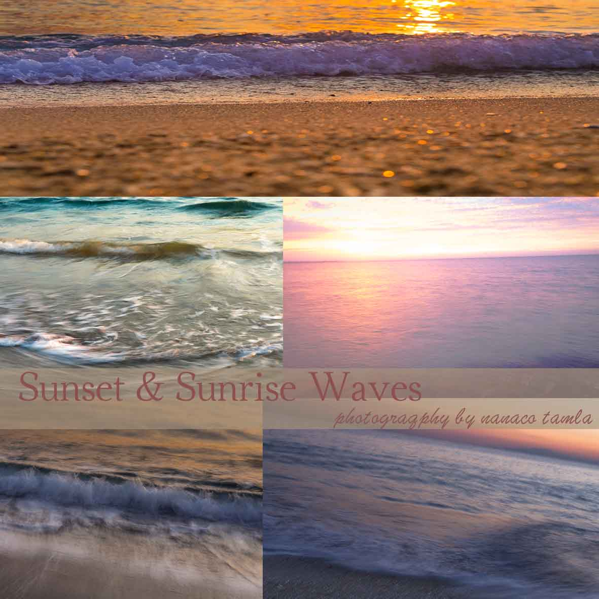 sunset & sunrise wavew